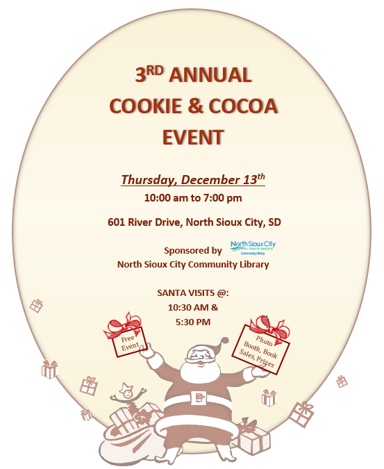 3rd Annual Cookie & Cocoa Event